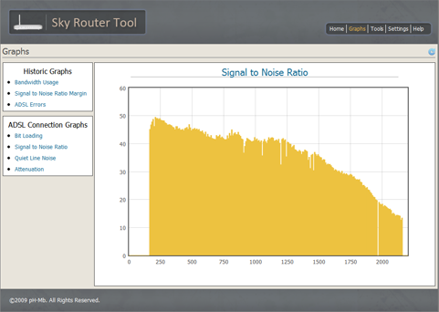 Sky Router Tool Screenshot